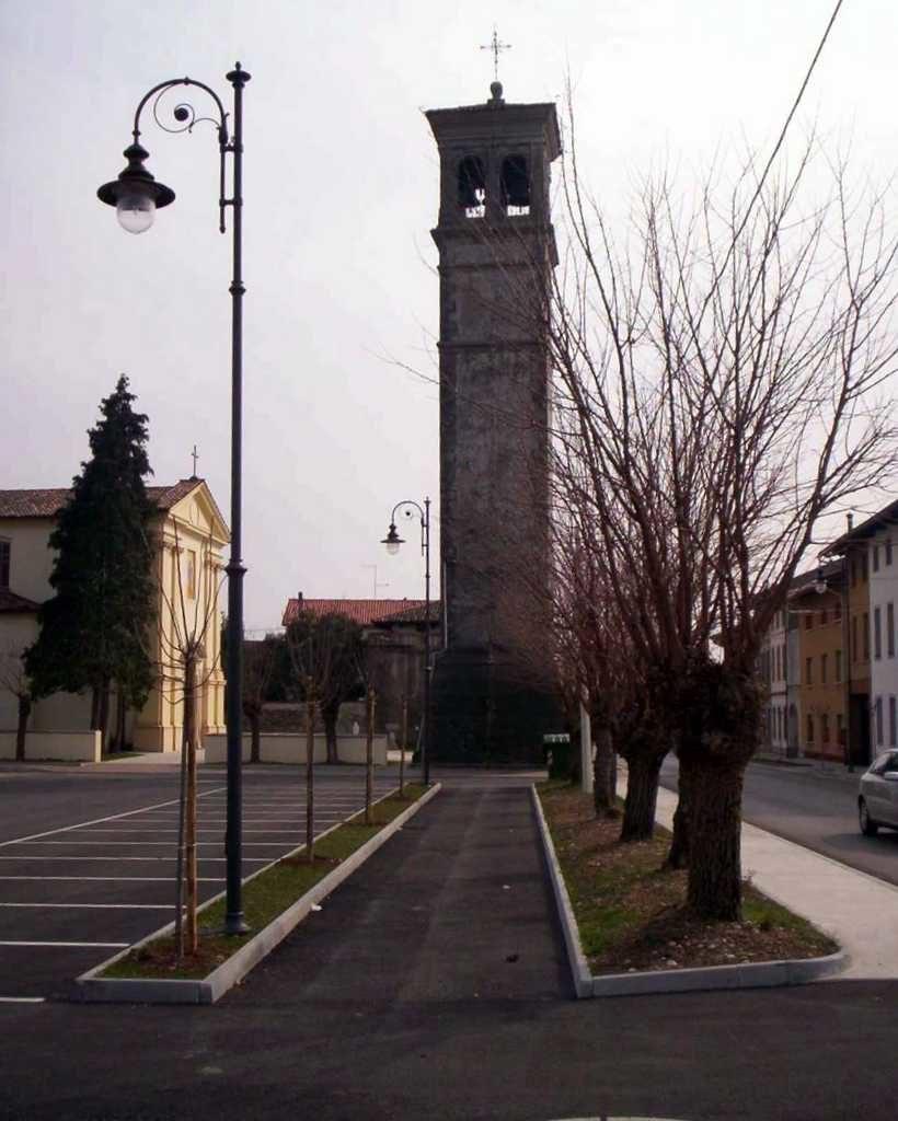 Comune di Sedegliano - realizzazione di nuovi parcheggi in località Grions, Gradisca e