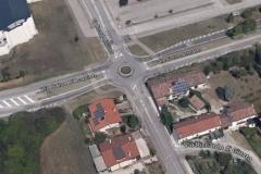 Comune di Udine - Progettazione di una rotonda e sistemazione viaria in via R. Di Giusto