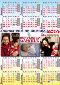 2014 calendario nipoti