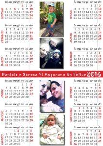 2016 calendario nipoti