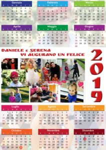 2019 calendario nipoti